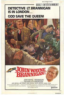 Brannigan - 27 x 40 Movie Poster - Style B