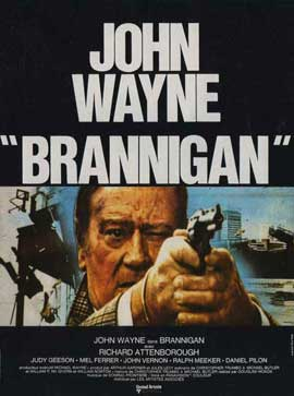 Brannigan - 11 x 17 Movie Poster - French Style A