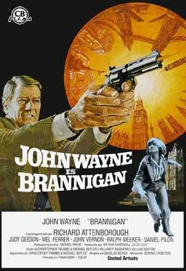 Brannigan - 11 x 17 Movie Poster - Spanish Style A