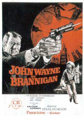 Brannigan - 27 x 40 Movie Poster - Spanish Style A