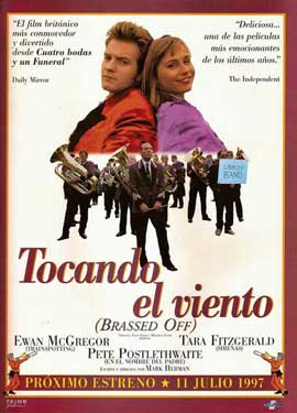 Brassed Off - 11 x 17 Movie Poster - Spanish Style A