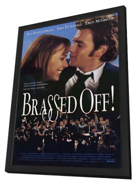 Brassed Off - 11 x 17 Movie Poster - Style A - in Deluxe Wood Frame