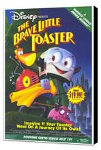 Brave Little Toaster - 27 x 40 Movie Poster - Style B - Museum Wrapped Canvas