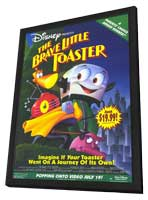 Brave Little Toaster - 11 x 17 Movie Poster - Style B - in Deluxe Wood Frame