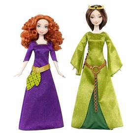 Brave - Disney Queen Elinore and Merida Dolls Set