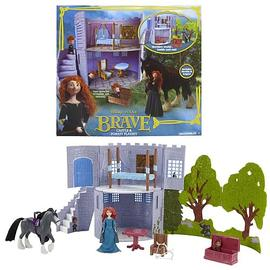 Brave - Disney Small Doll Castle Playset