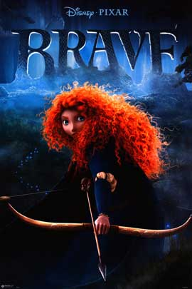Brave - Movie Poster - 24 x 36 - Style A