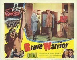 Brave Warrior - 11 x 14 Movie Poster - Style F