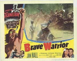 Brave Warrior - 11 x 14 Movie Poster - Style H