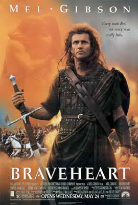 Braveheart - 27 x 40 Movie Poster - Style A