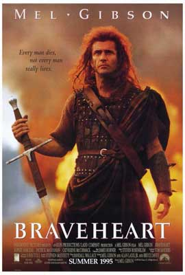 Braveheart - 27 x 40 Movie Poster - Style B