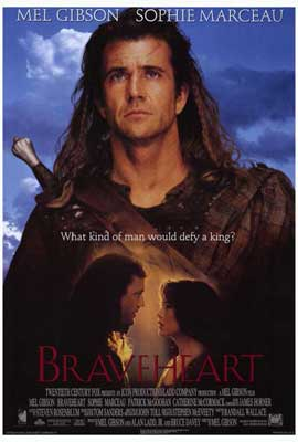 Braveheart - 27 x 40 Movie Poster - Style D