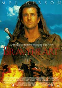 Braveheart - 27 x 40 Movie Poster - Spanish Style A