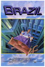 Brazil - 27 x 40 Movie Poster - Style B