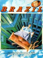 Brazil - 11 x 17 Movie Poster - French Style A
