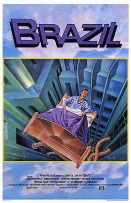 Brazil - 11 x 17 Movie Poster - Style B