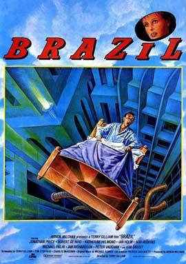 Brazil - 11 x 17 Movie Poster - Style E
