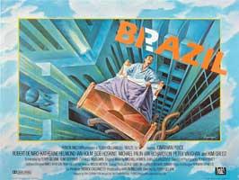Brazil - 30 x 40 Movie Poster UK - Style A