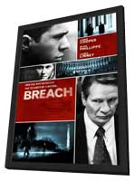 Breach - 11 x 17 Movie Poster - Style E - in Deluxe Wood Frame