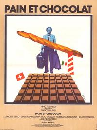 Bread and Chocolate - 11 x 17 Movie Poster - Belgian Style A