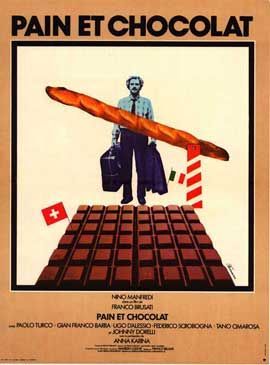 Bread and Chocolate - 27 x 40 Movie Poster - Italian Style A