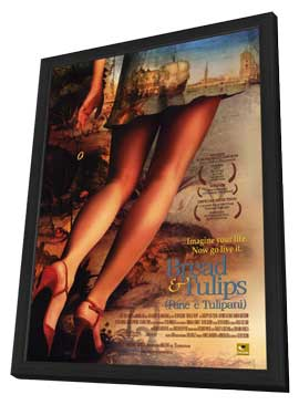 Bread and Tulips - 11 x 17 Movie Poster - Style A - in Deluxe Wood Frame