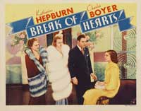 Break of Hearts - 22 x 28 Movie Poster - Half Sheet Style A