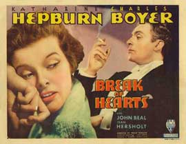 Break of Hearts - 22 x 28 Movie Poster - Half Sheet Style B