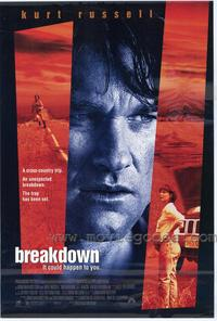 Breakdown - 27 x 40 Movie Poster - Style A