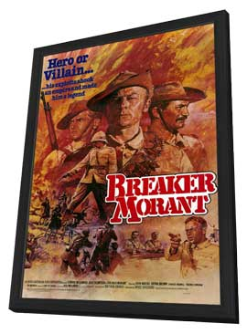 Breaker Morant - 11 x 17 Movie Poster - Style A - in Deluxe Wood Frame