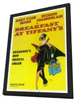 Breakfast at Tiffanys (Broadway) - 14 x 22 Poster - Style A - in Deluxe Wood Frame