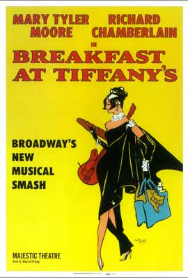 Breakfast at Tiffanys (Broadway) - 27 x 40 Movie Poster
