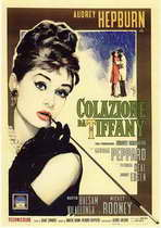 Breakfast at Tiffany's - 11 x 17 Movie Poster - Italian Style A