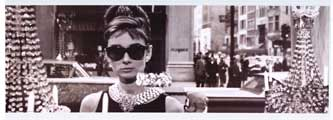 Breakfast at Tiffany's - People Poster - 12 x 36 - Style A