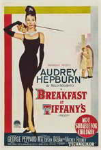 Breakfast at Tiffany's - 27 x 40 Movie Poster - Australian Style A