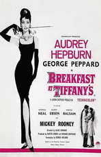 Breakfast at Tiffany's - 11 x 17 Movie Poster - Style F