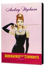 Breakfast at Tiffany's - 11 x 17 Movie Poster - Style H - Museum Wrapped Canvas