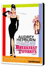 Breakfast at Tiffany's - 27 x 40 Movie Poster - Style B - Museum Wrapped Canvas