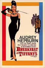 Breakfast at Tiffany's - Movie Poster - 24 x 36 - Style B