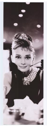 Breakfast at Tiffany's - People Poster - 12 x 36 - Style B