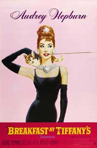 Breakfast at Tiffany's - 27 x 40 Movie Poster - Style D