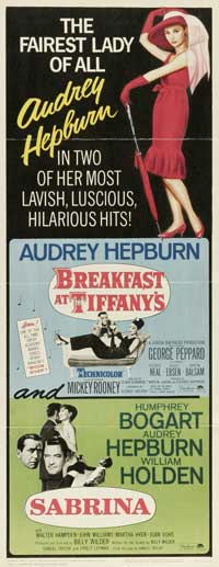 Breakfast at Tiffany's - 14 x 36 Movie Poster - Insert Style A