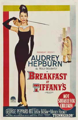 Breakfast at Tiffany's - 11 x 17 Movie Poster - Australian Style A