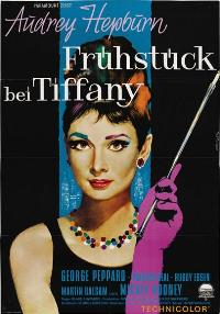 Breakfast at Tiffany's - 11 x 17 Movie Poster - German Style B