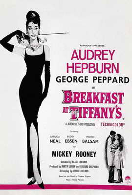 Breakfast at Tiffany's - 27 x 40 Movie Poster