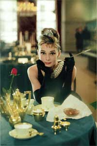 Breakfast at Tiffany's - 11 x 17 Movie Poster - Style K