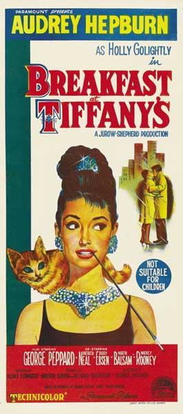 Breakfast at Tiffany's - 14 x 36 Movie Poster - Australian Style A