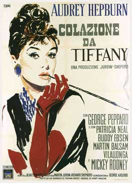 Breakfast at Tiffany's - 11 x 17 Movie Poster - Italian Style B