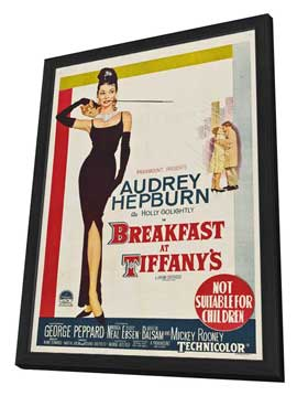 Breakfast at Tiffany's - 11 x 17 Movie Poster - Australian Style A - in Deluxe Wood Frame