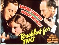 Breakfast for Two - 11 x 14 Movie Poster - Style A